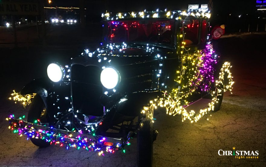 Parade of Lights: lighting cars for parades
