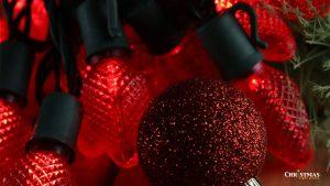 Red LED Bulbs for Christmas