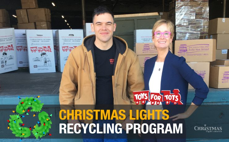 Christmas Lights Recycling Program