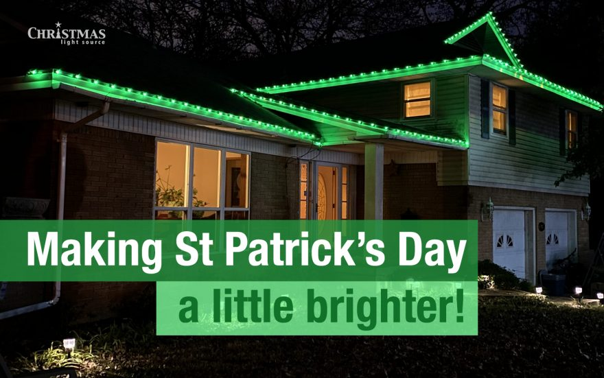 Making St Patrick's Day a little brighter!