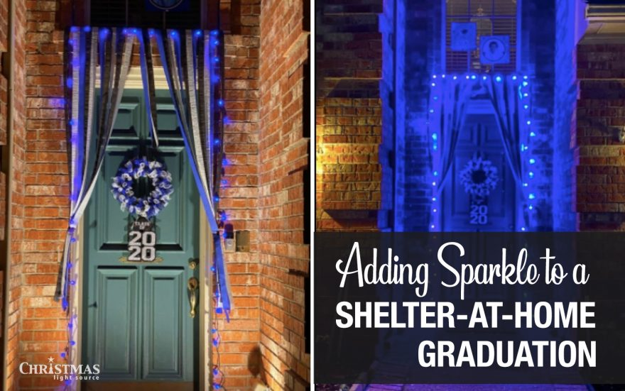 Adding Sparkle to a Shelter-at-Home High School Graduation