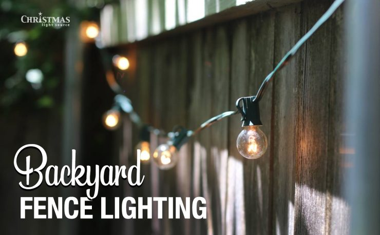 Backyard Fence Lighting