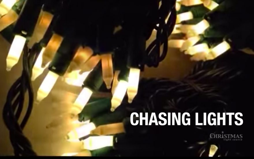 What exactly are chasing Christmas lights and how do they work?