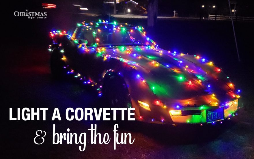 Our Lights in Action: Light a Corvette and bring the fun!