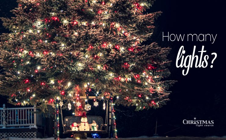 How many lights for my Christmas Tree?