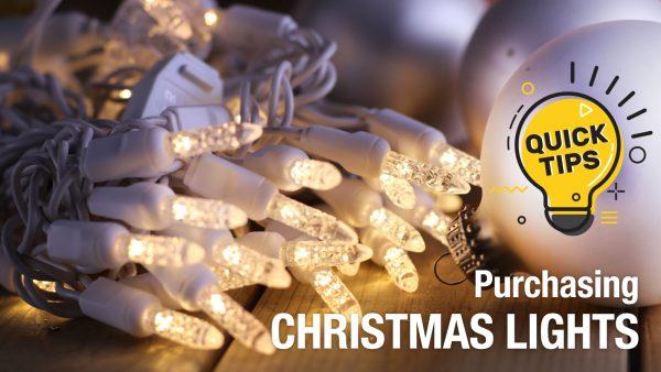 Tips for buying Christmas Lights