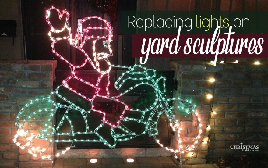 Step-by-Step Instructions for Replacing Lights on Yard Sculptures