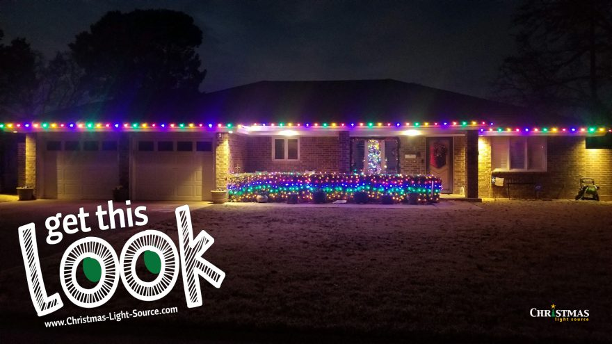 Get This Look: Karen's LED Multi-color LED Christmas lights!