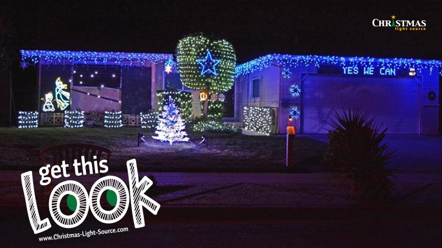 Get This Look: Dallas Cowboys Christmas Lights