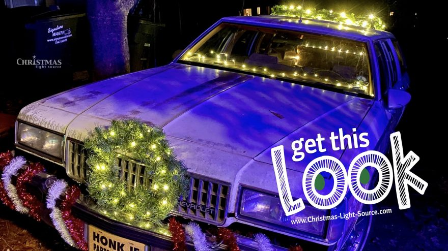 Get This Look: A classic car and 12-volt light sets