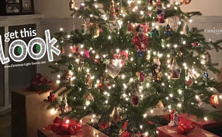Mini Lights on your Christmas Tree