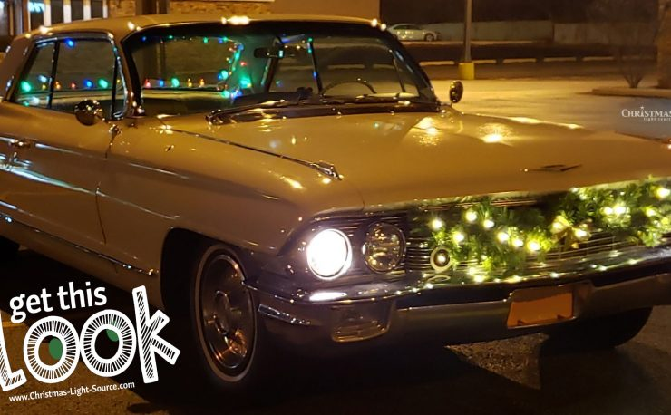 Light up a classic car